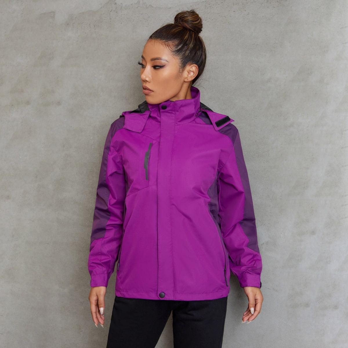Контрастный цвет Спортивные куртки