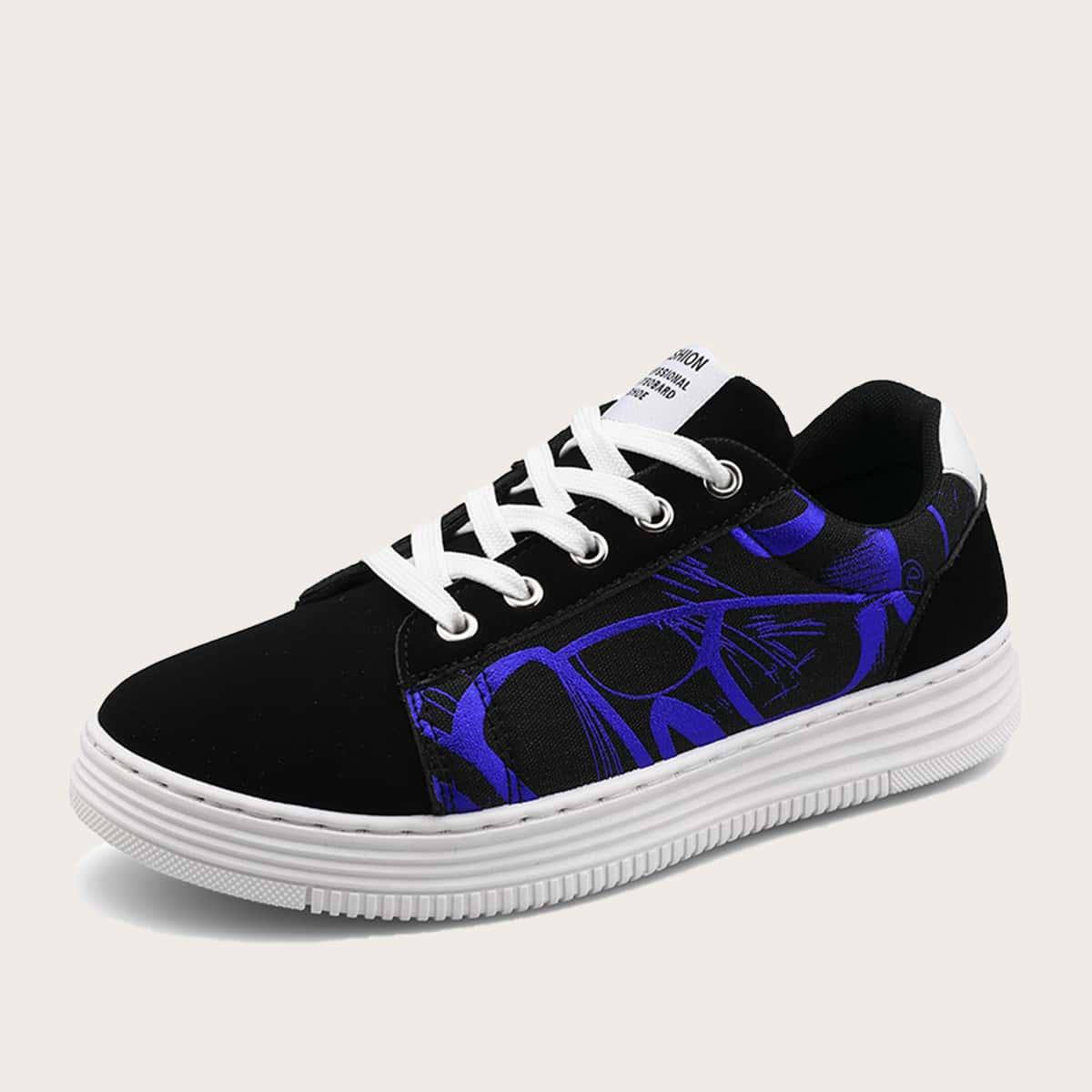 Обувь для скейтбординга на шнурках для мальчиков
