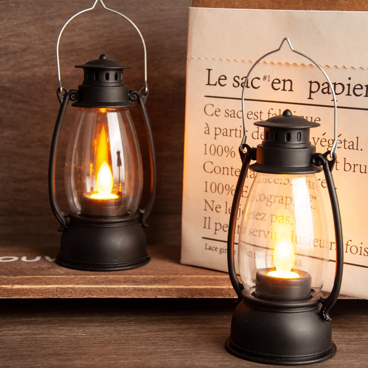 1шт винтажный свет в форме керосиновой лампы