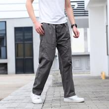 Guys Slant Pocket Straight Leg Pants