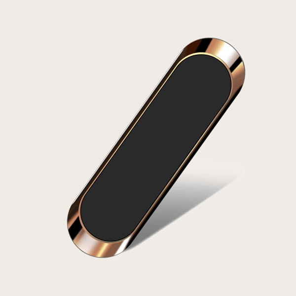 1pc Magnet Car Phone Holder, Rose gold