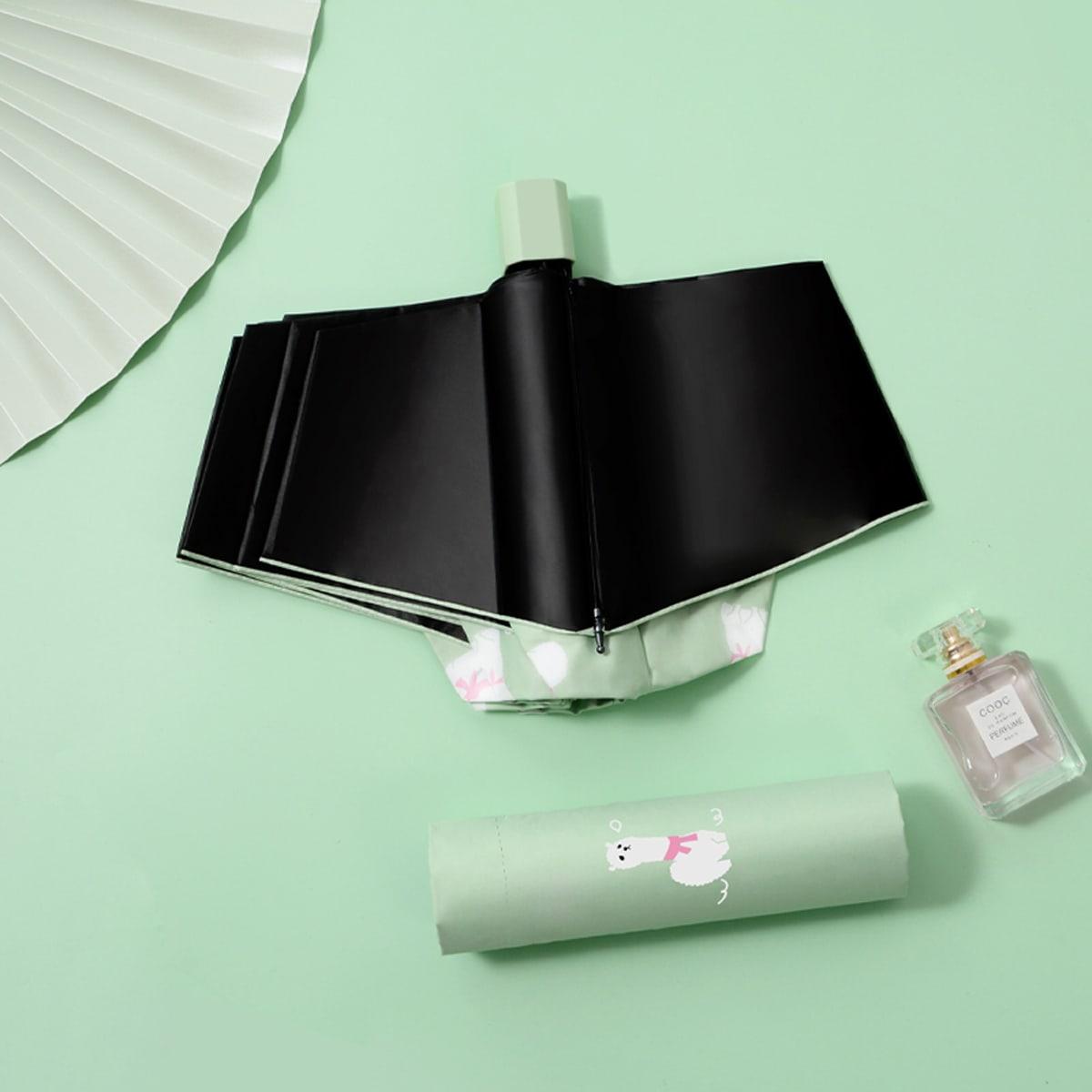 Солнцезащитный зонт с мультипликационным принтом