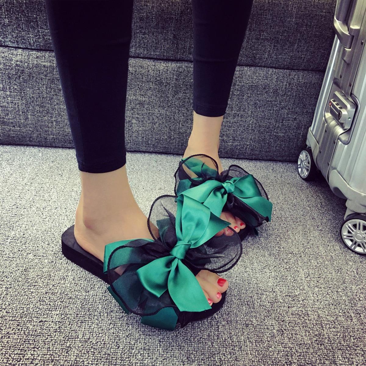 SHEIN Muller sleehakschoenen met strik