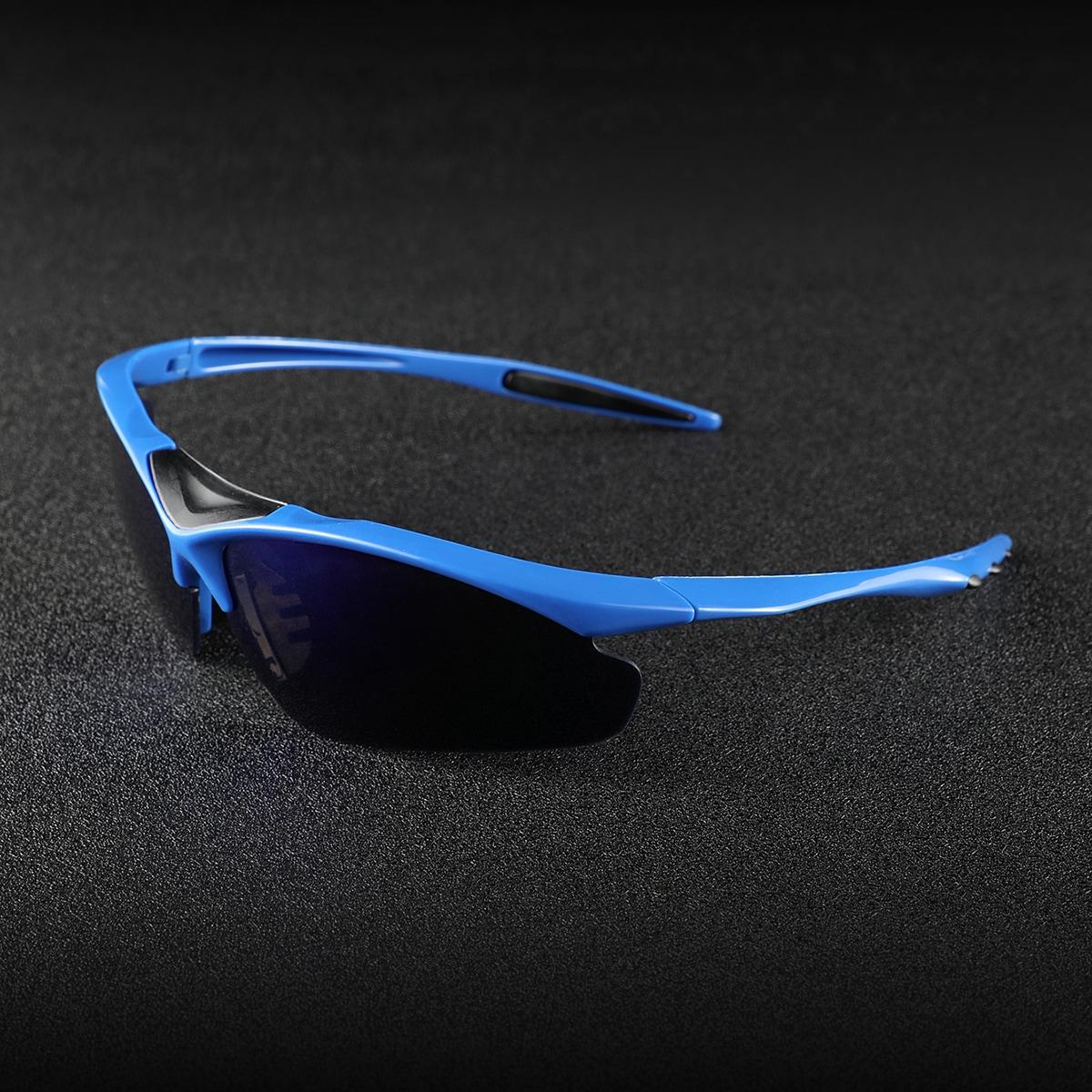 shein Gepolariseerde zonnebril voor heren van acryl