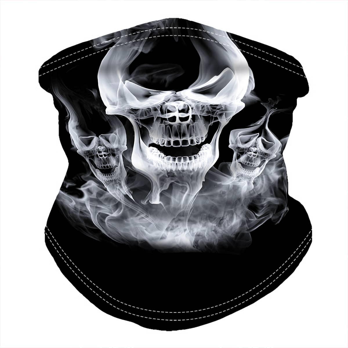 shein Skull Pattern Neck Gaiter