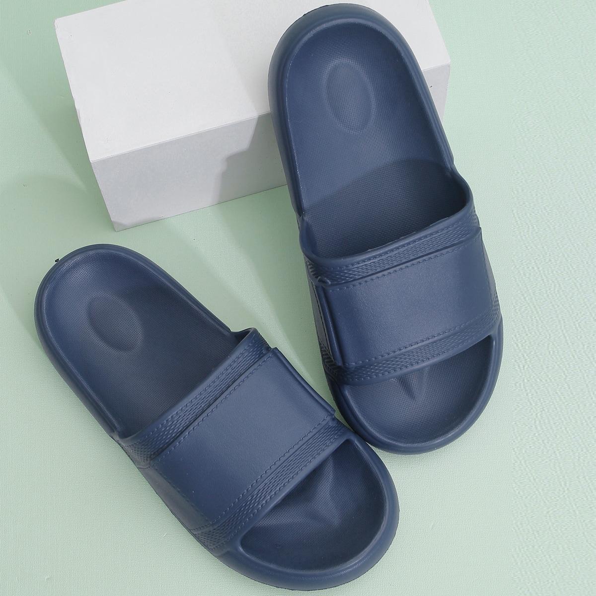 shein Vlak Heren slippers