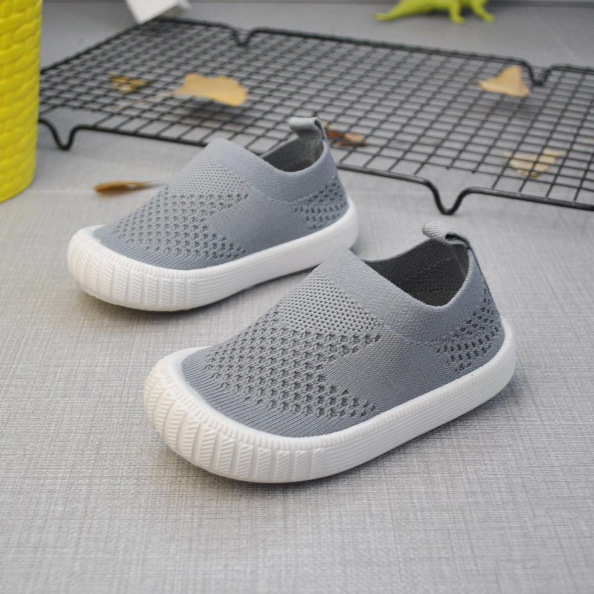 Вязаные кроссовки для мальчиков от SHEIN