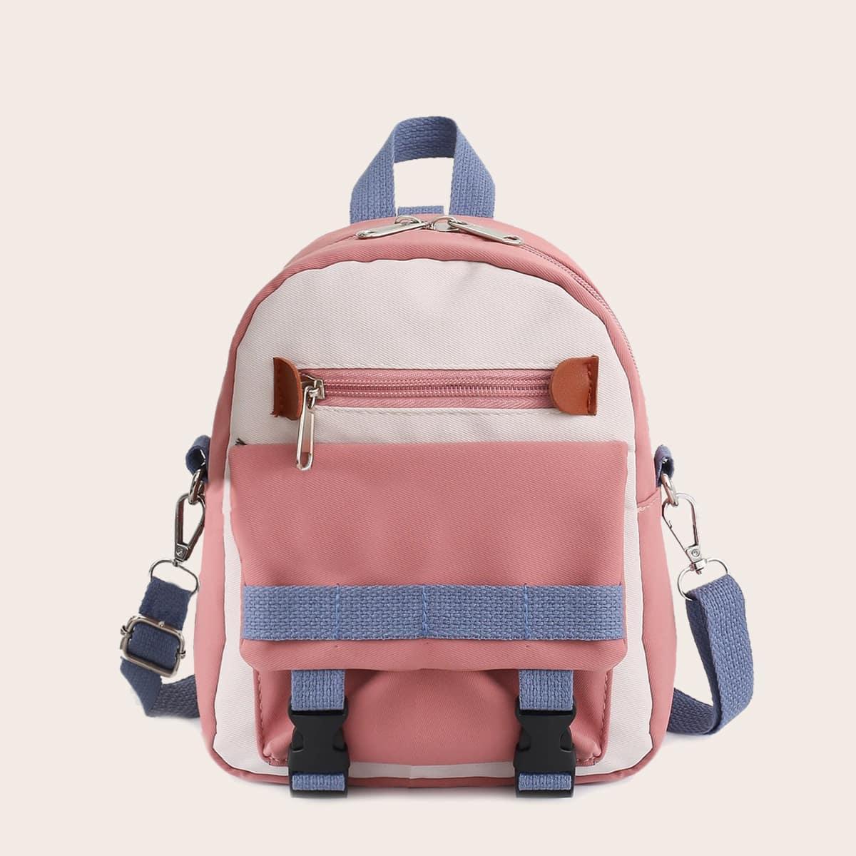 Контрастная школьная сумка