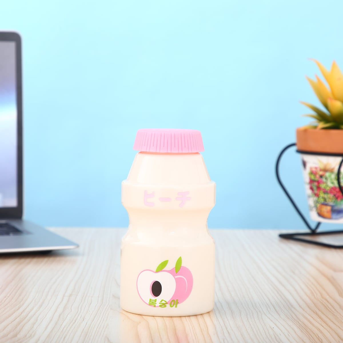 1pc Milk Bottle Shaped Water Bottle
