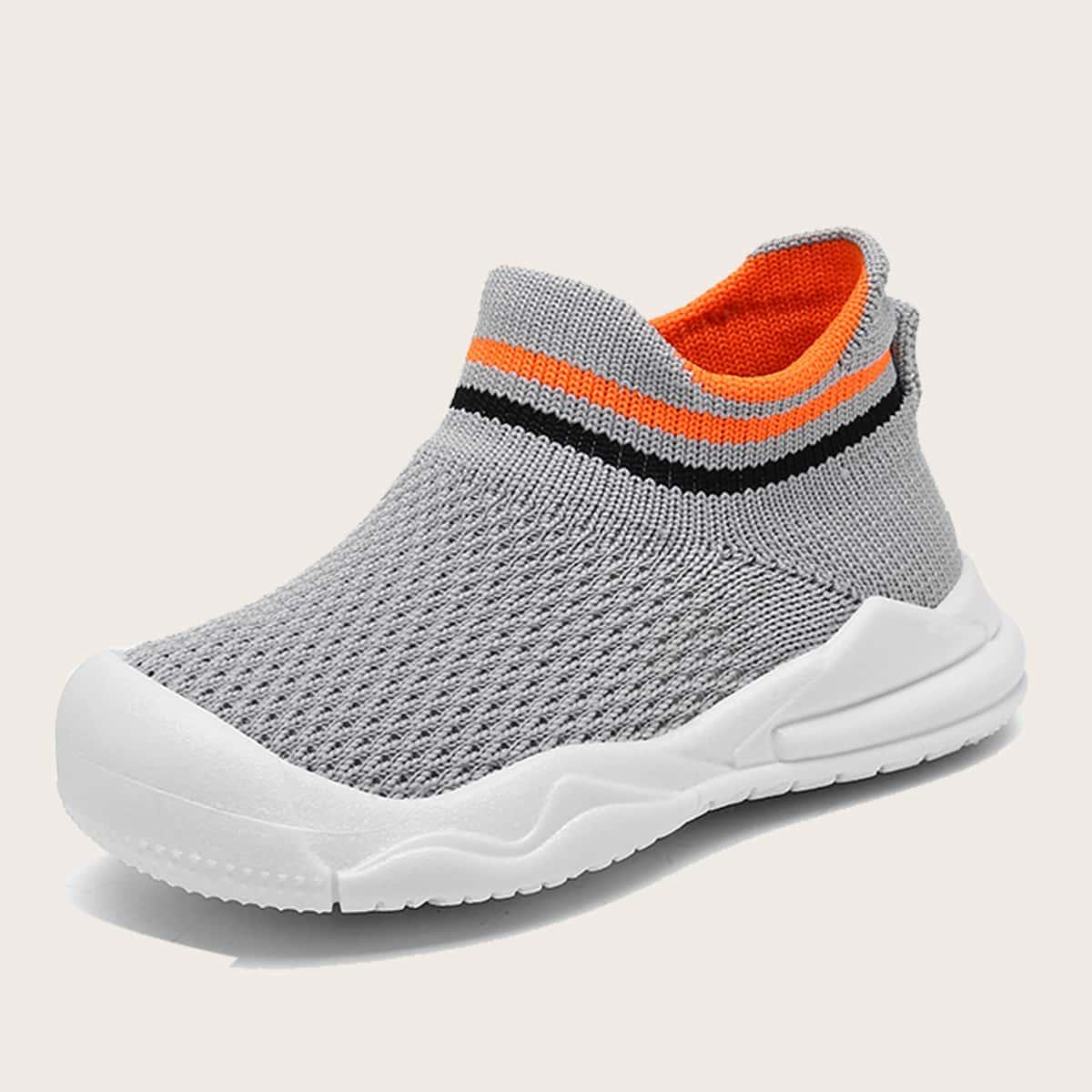 SHEIN Gestreept Baby sneaker