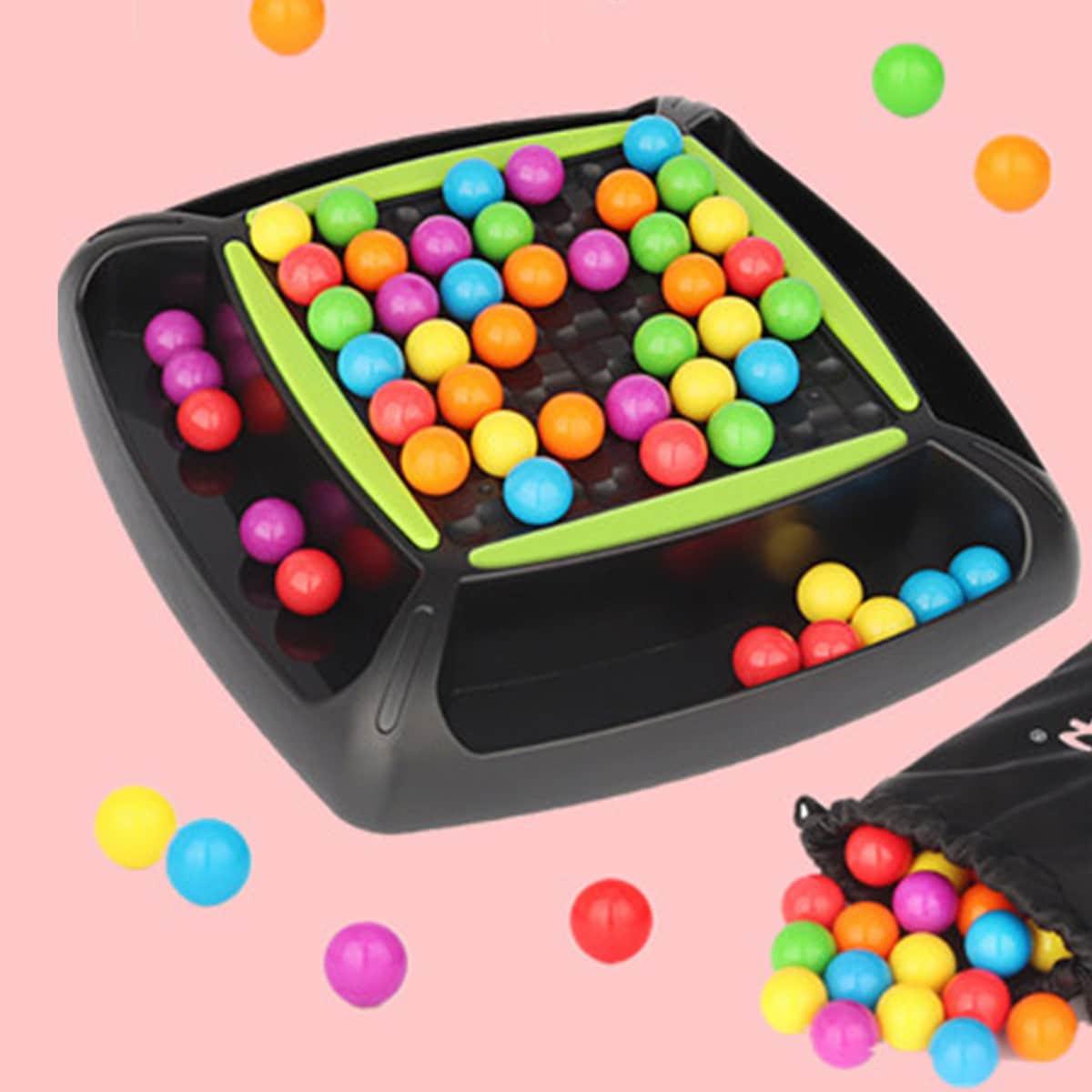 1 набор детская цветная игра в бисер