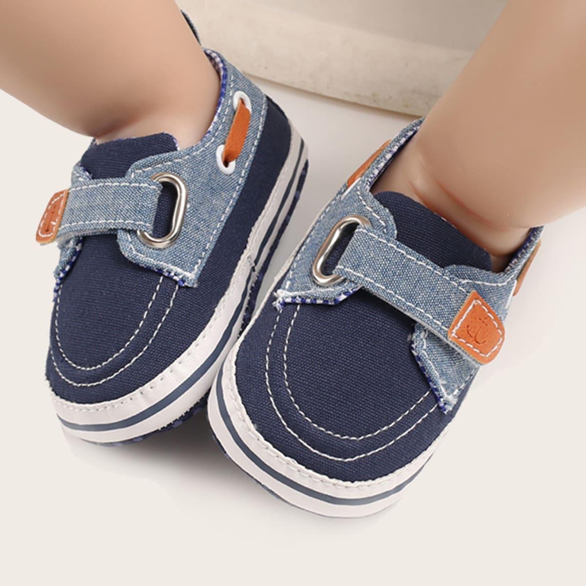 SHEIN Sneakers met klittenbandgordel voor babyjongens