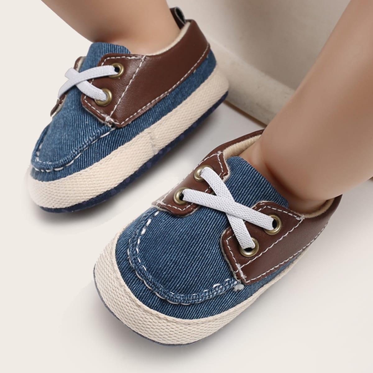 SHEIN Sneakers met kleurvlakken voor jongens