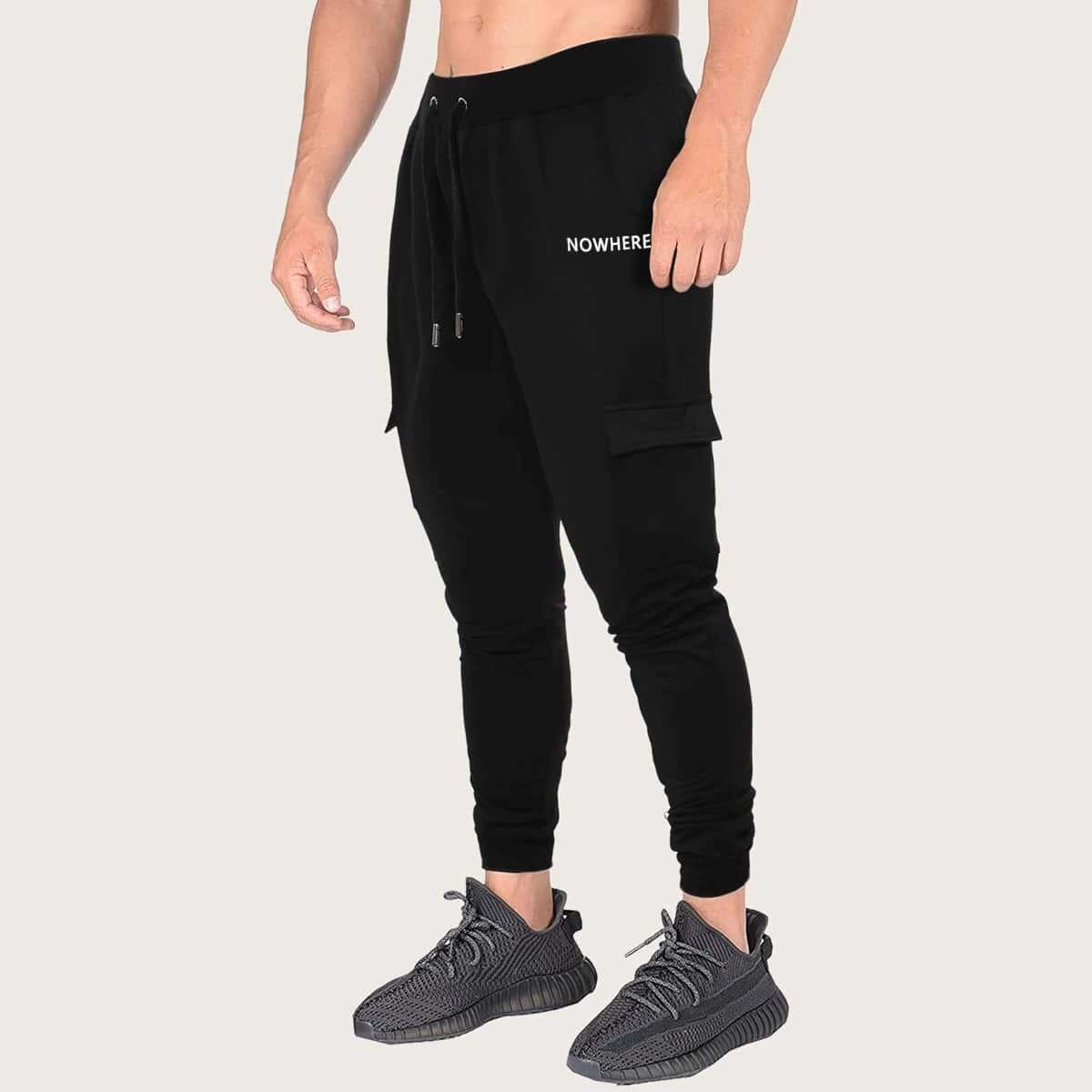 на кулиске буква Мужские спортивные брюки по цене 1 510