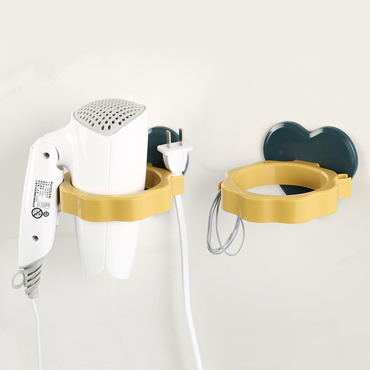 1 pieza soporte de secador de pelo con diseño de corazón