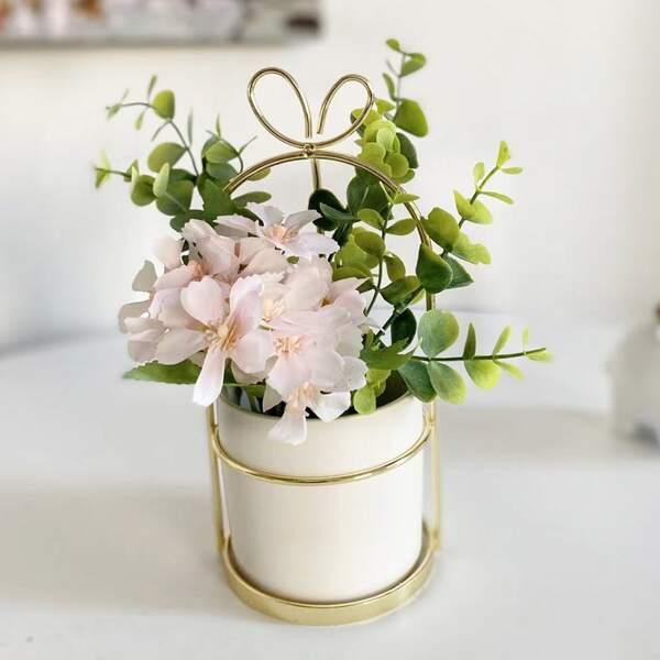 1bundle Artificial Flower Without Vase, Multicolor