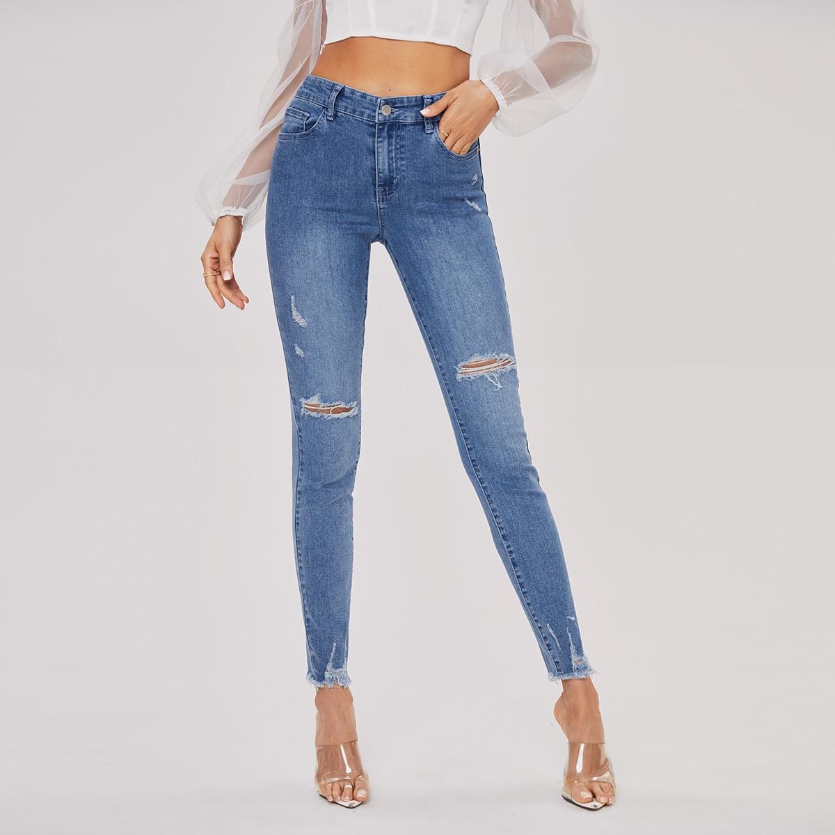 Оригинальные джинсы скинни