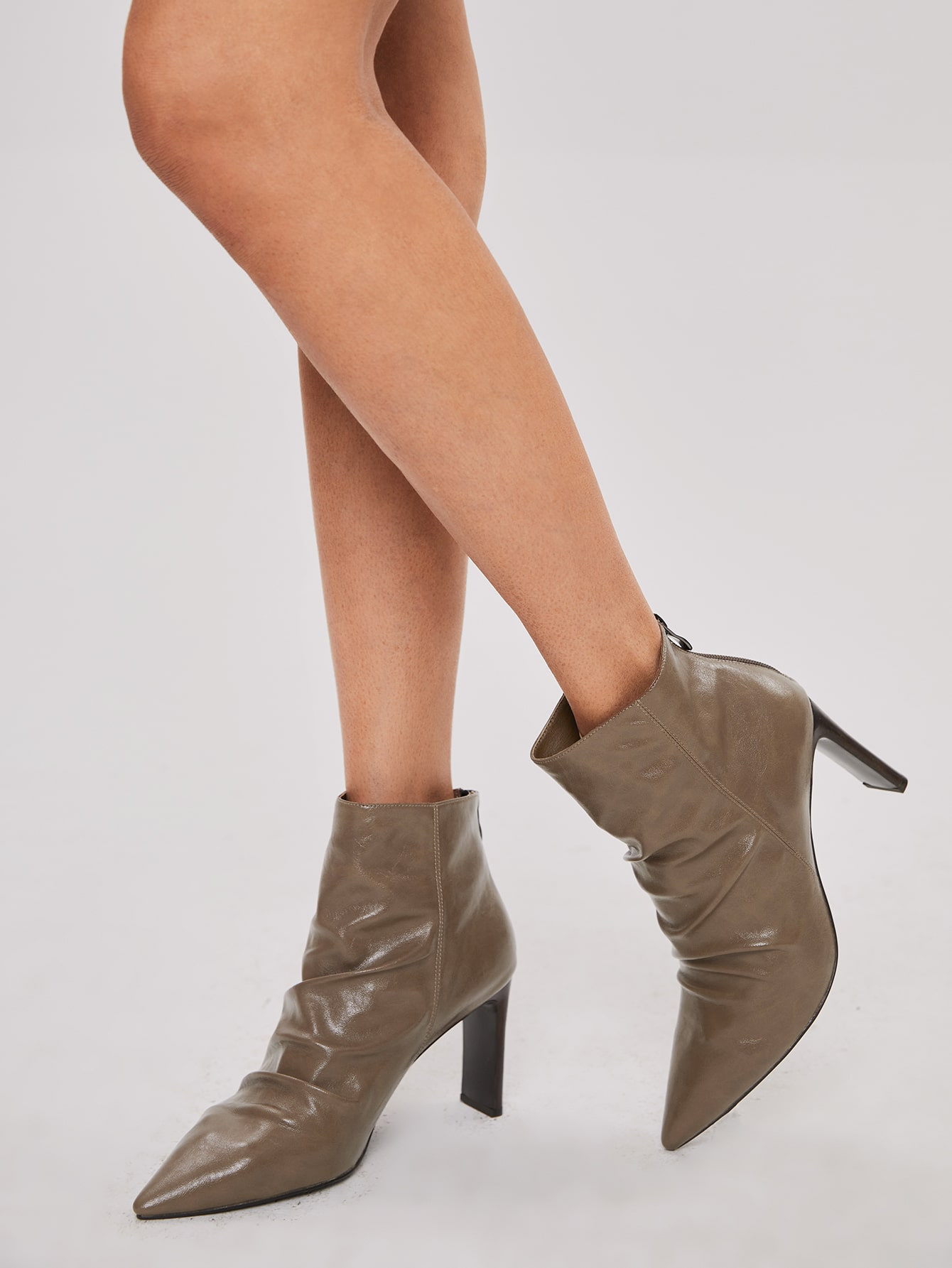 Point Toe Slouchy Boots