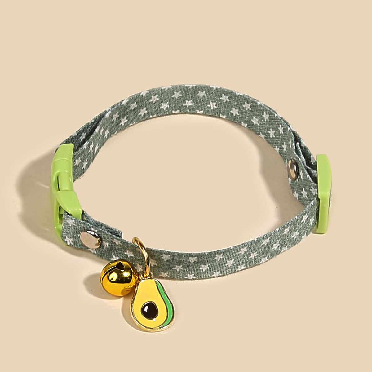 Haustier-Halskette mit Stern Muster