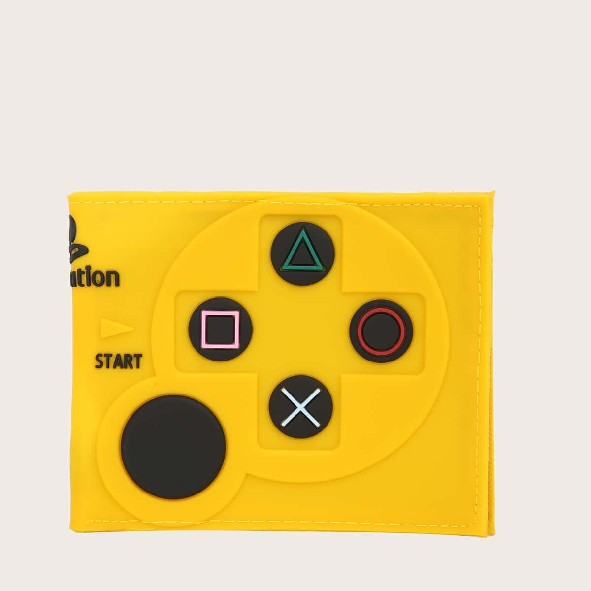 Мужской кошелек в форме игровой консоли