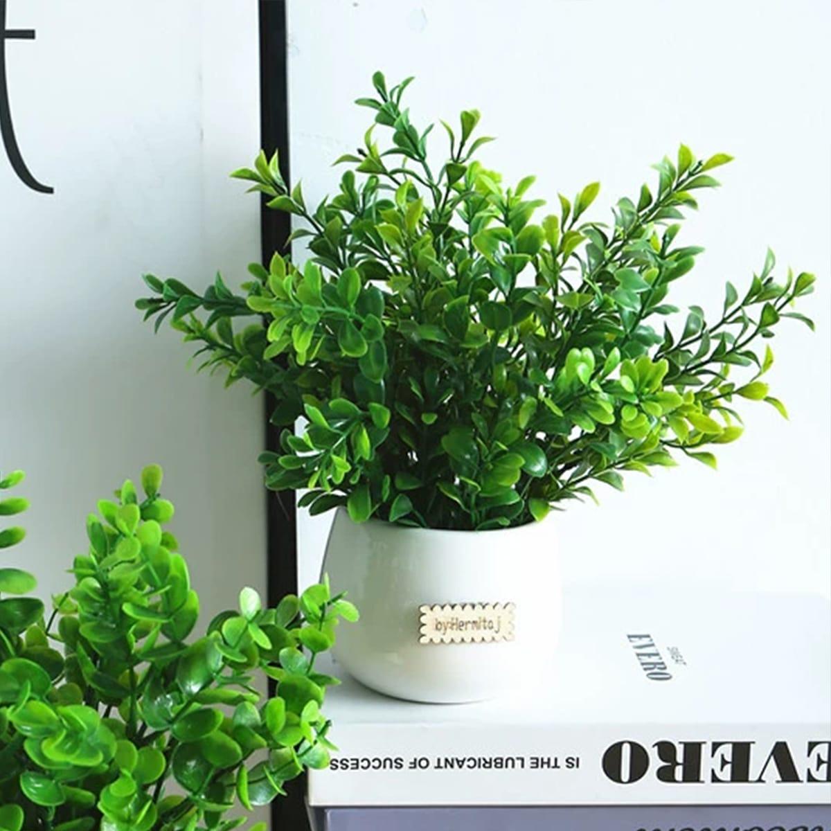 1 Strauß künstlicher Eukalyptus