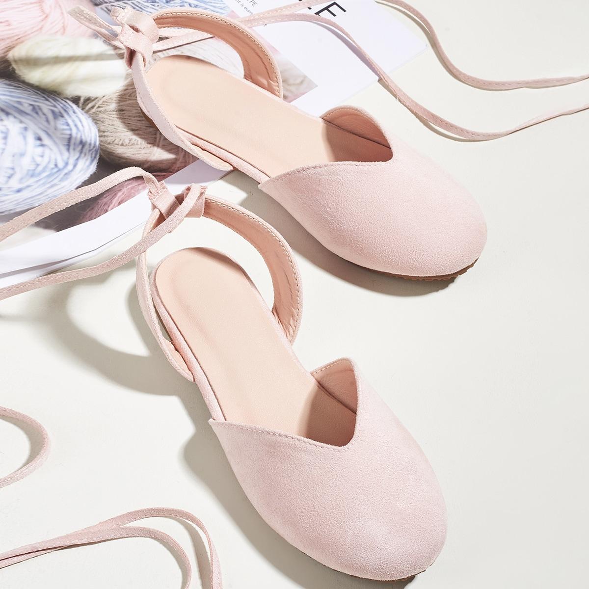 Обувь на плоской подошве для девочек от SHEIN