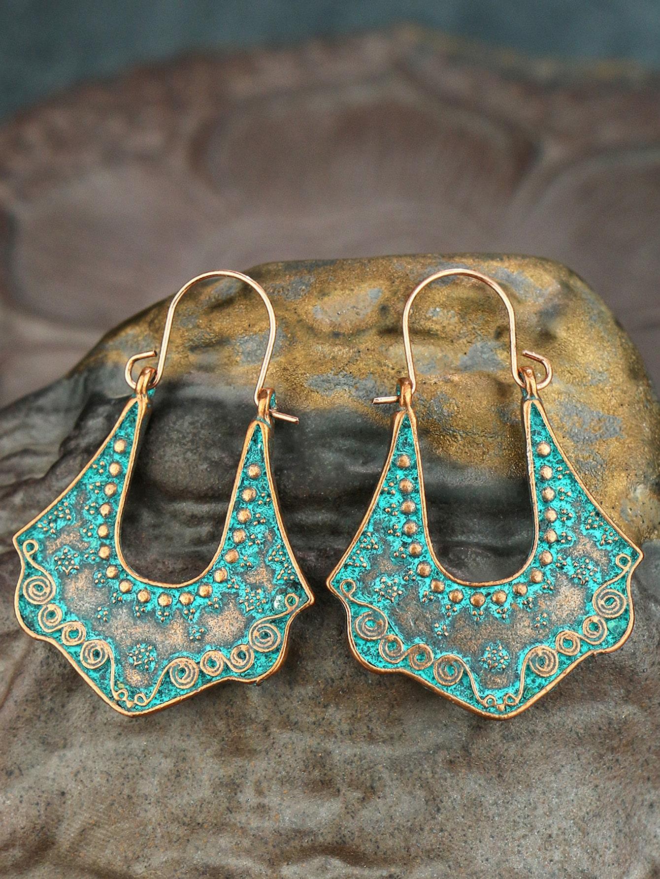 Серьги-кольца в богемном стилеswear18210120707