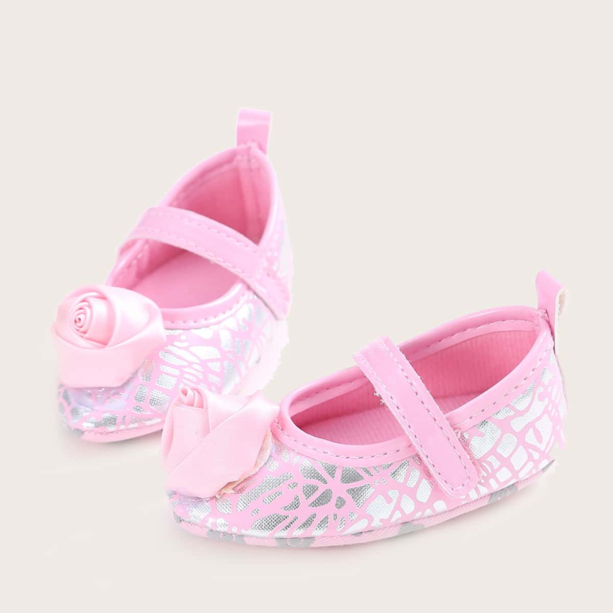 shein Mary Jane Bloemen Baby platte schoentjes