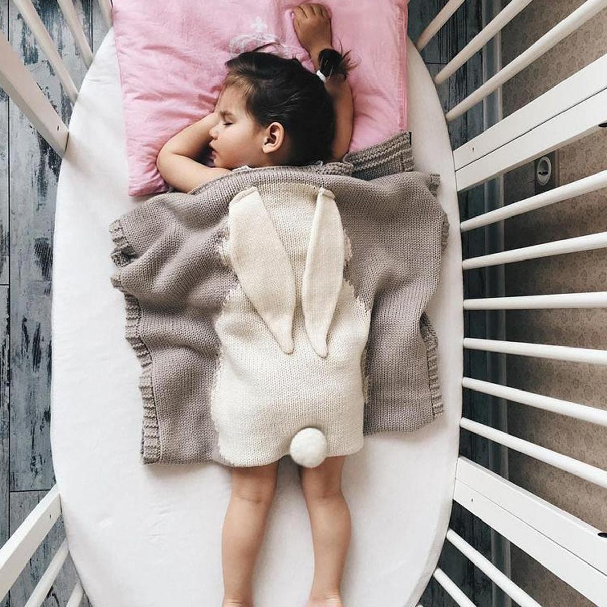 Контрастный цвет детские одеяла
