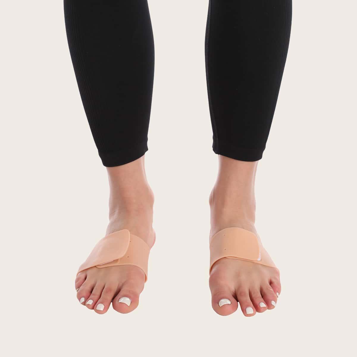 1 par almohadillas de apoyo para los pies