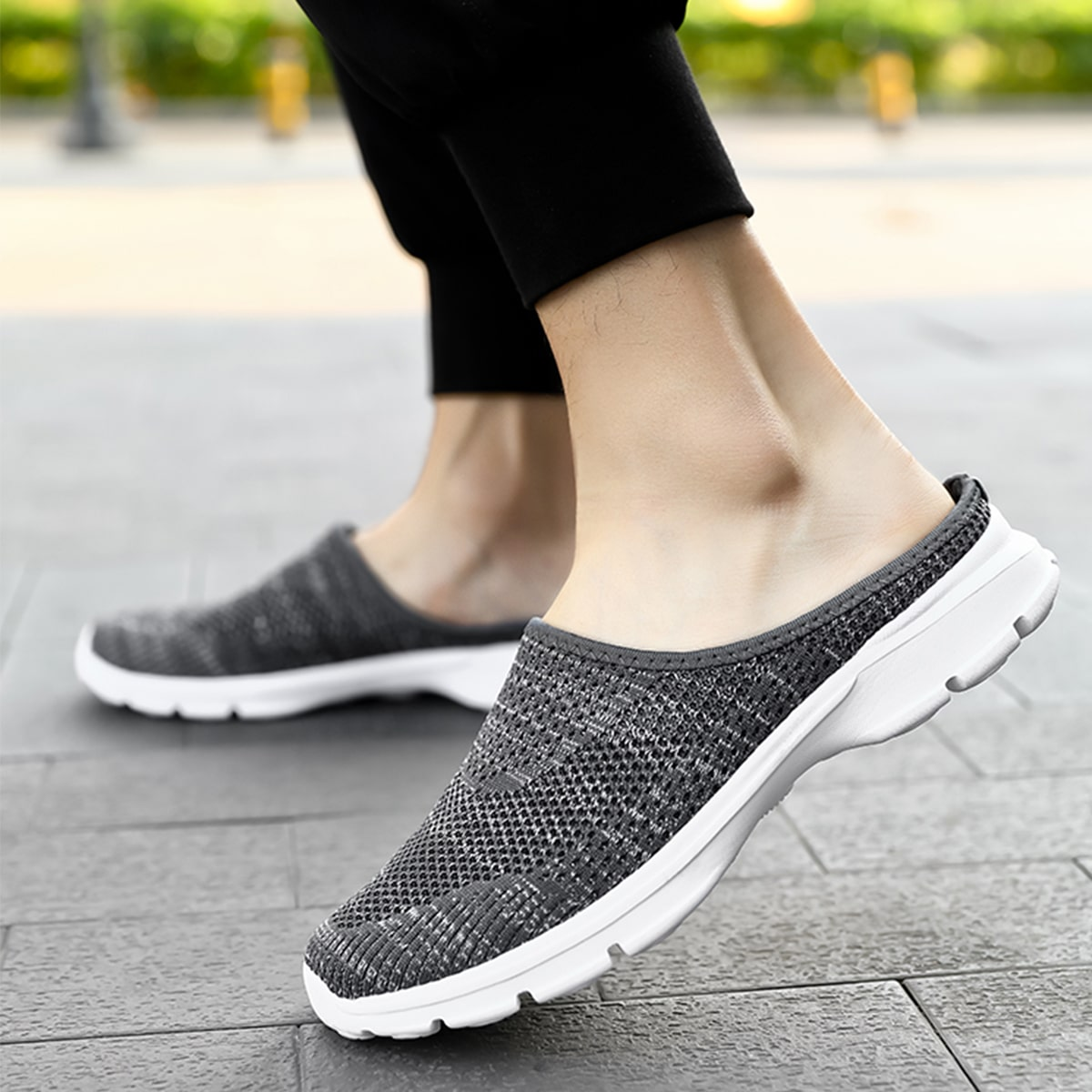SHEIN Minimalistische gebreide sneakers voor heren