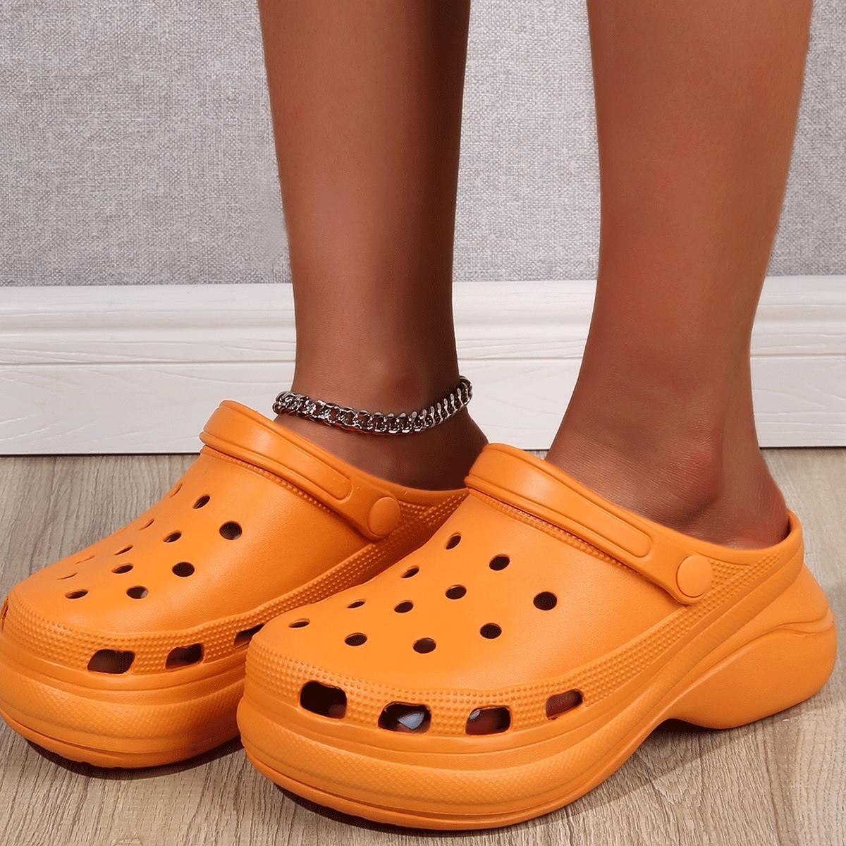 Минималистские сандалии на платформе