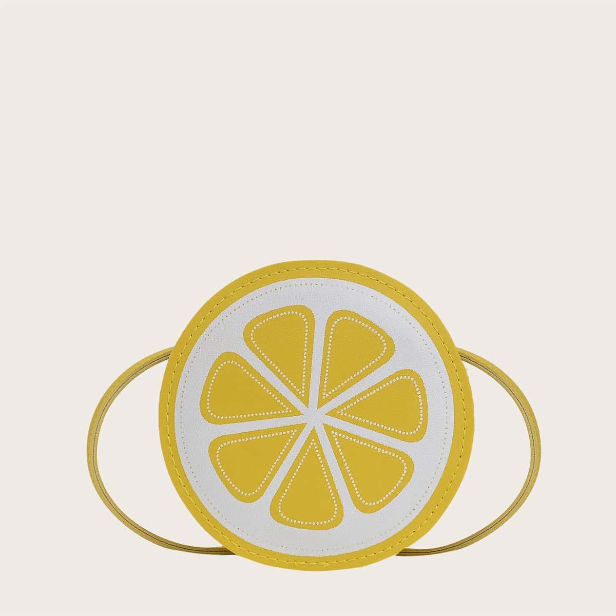 Детская круглая сумка в форме фруктов SheIn skbag18210122249