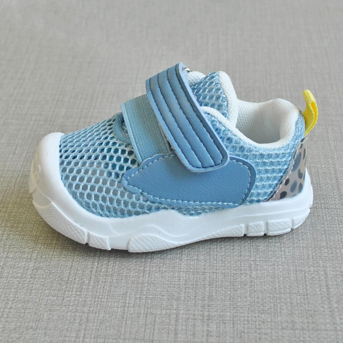 SHEIN Mesh sneakers met klittenband voor baby's