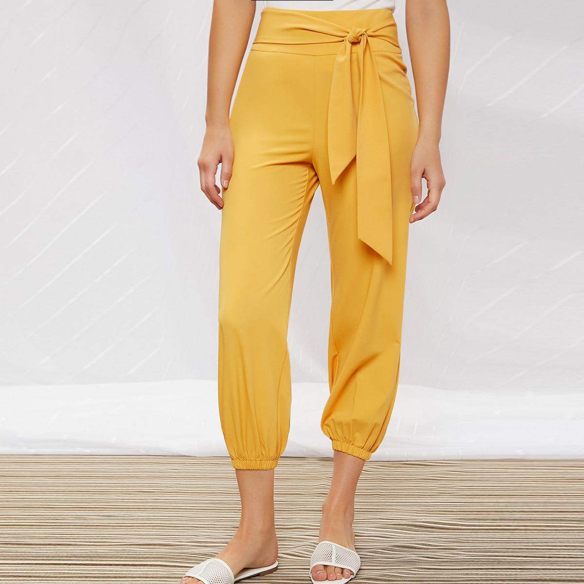 Короткие брюки-галифе с узлом