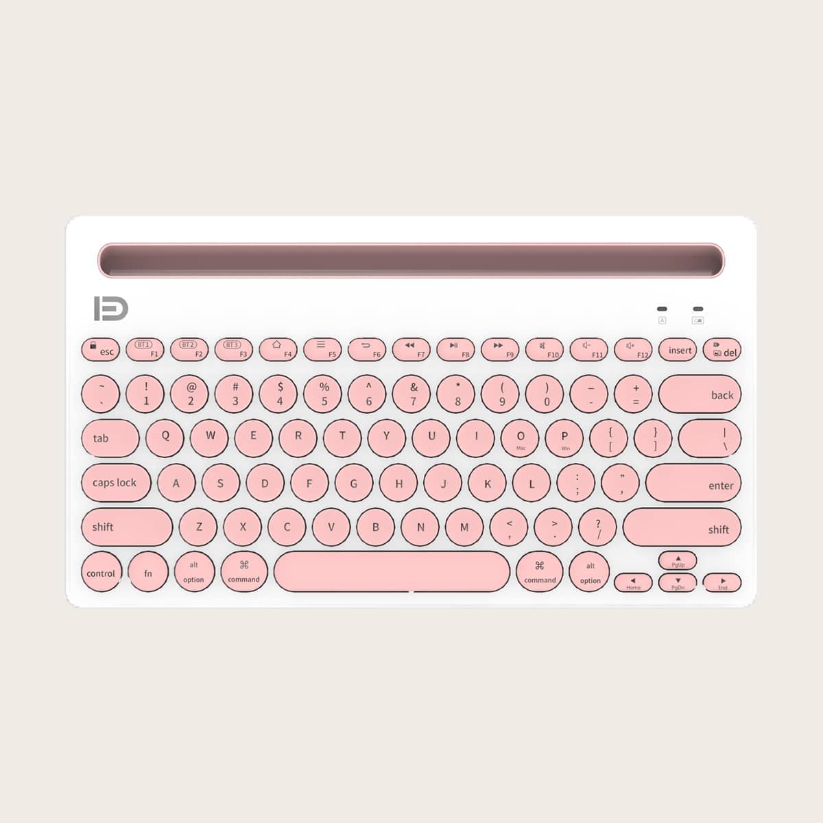 Беспроводная блютуз клавиатура для нескольких устройств