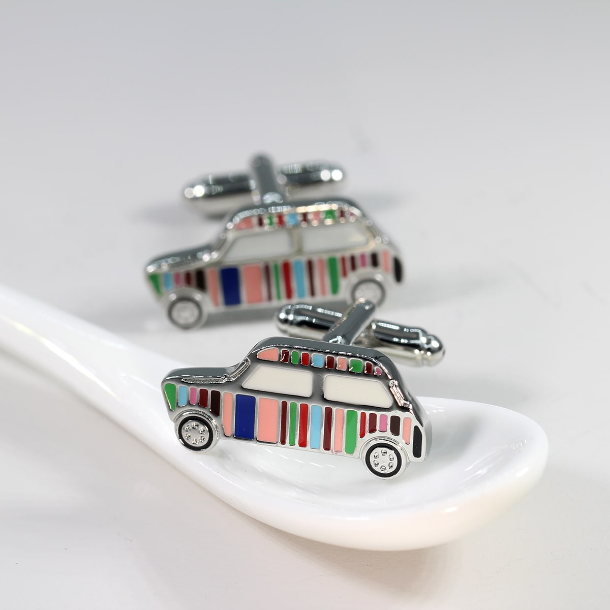 SHEIN Mannen auto-ontwerp manchetknopen