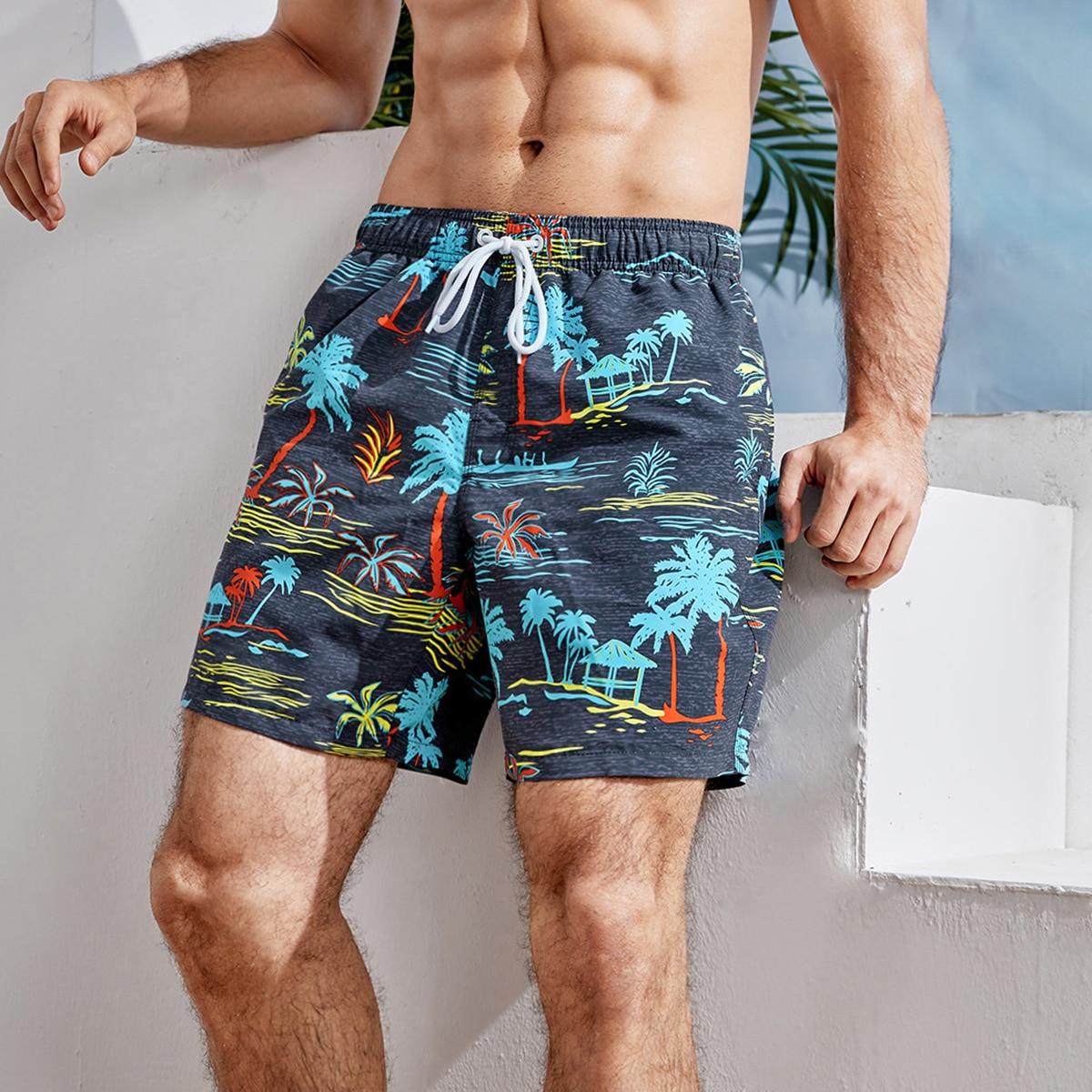 На кулиске тропический отпуск мужские купальники