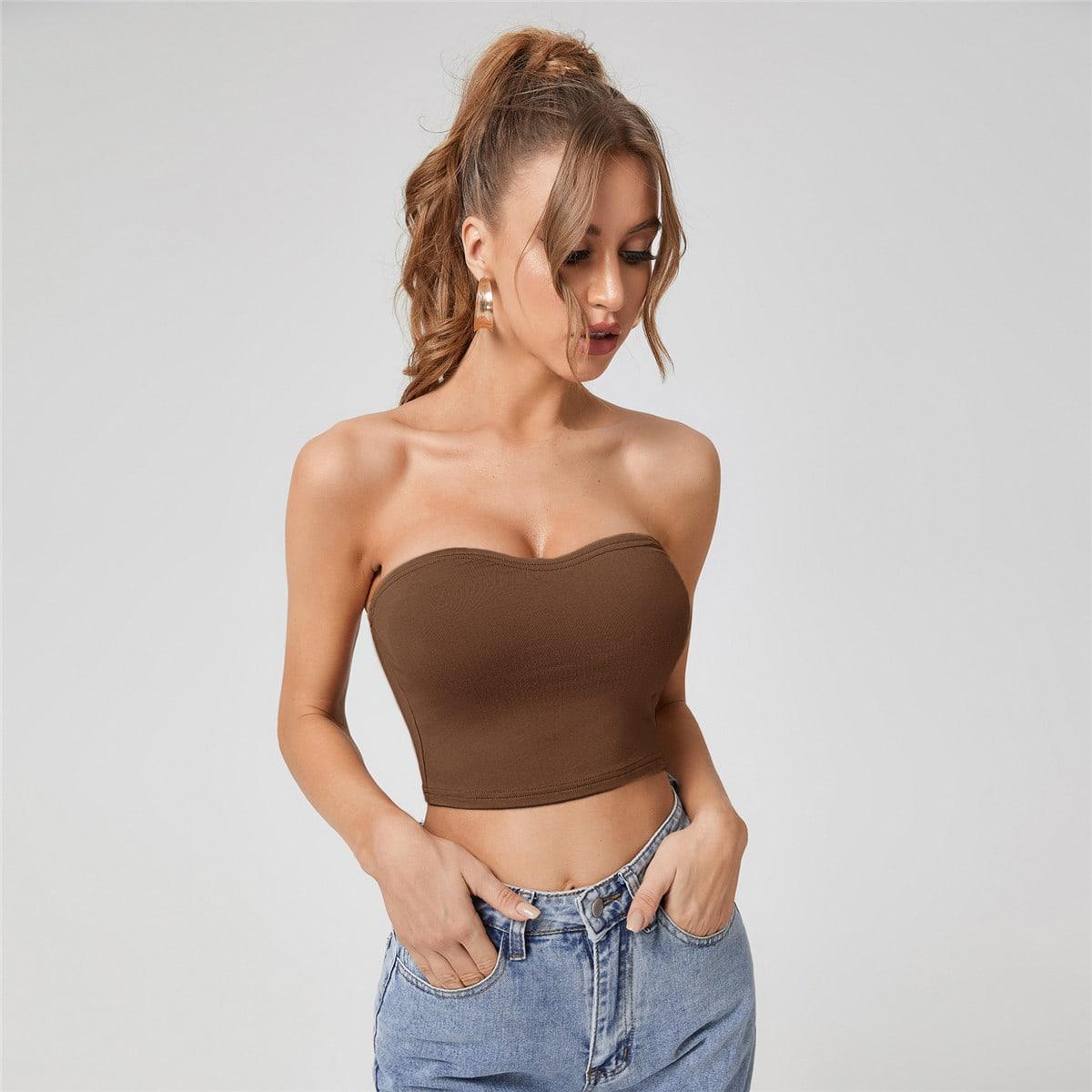 Sexy Vlak Dame top