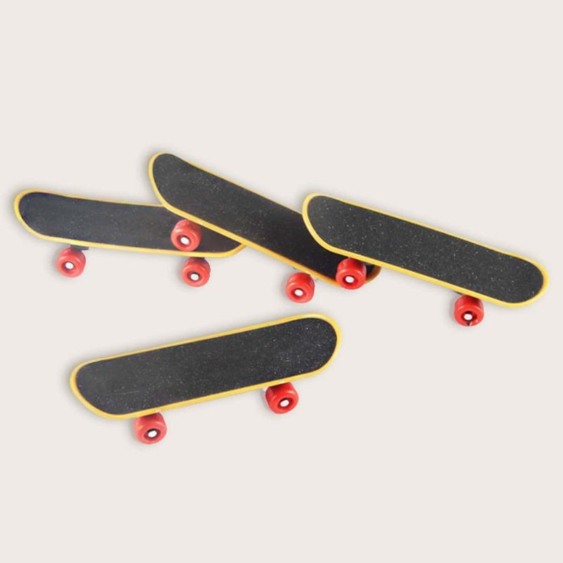 1pc Random Mini Finger Skateboard, Multicolor