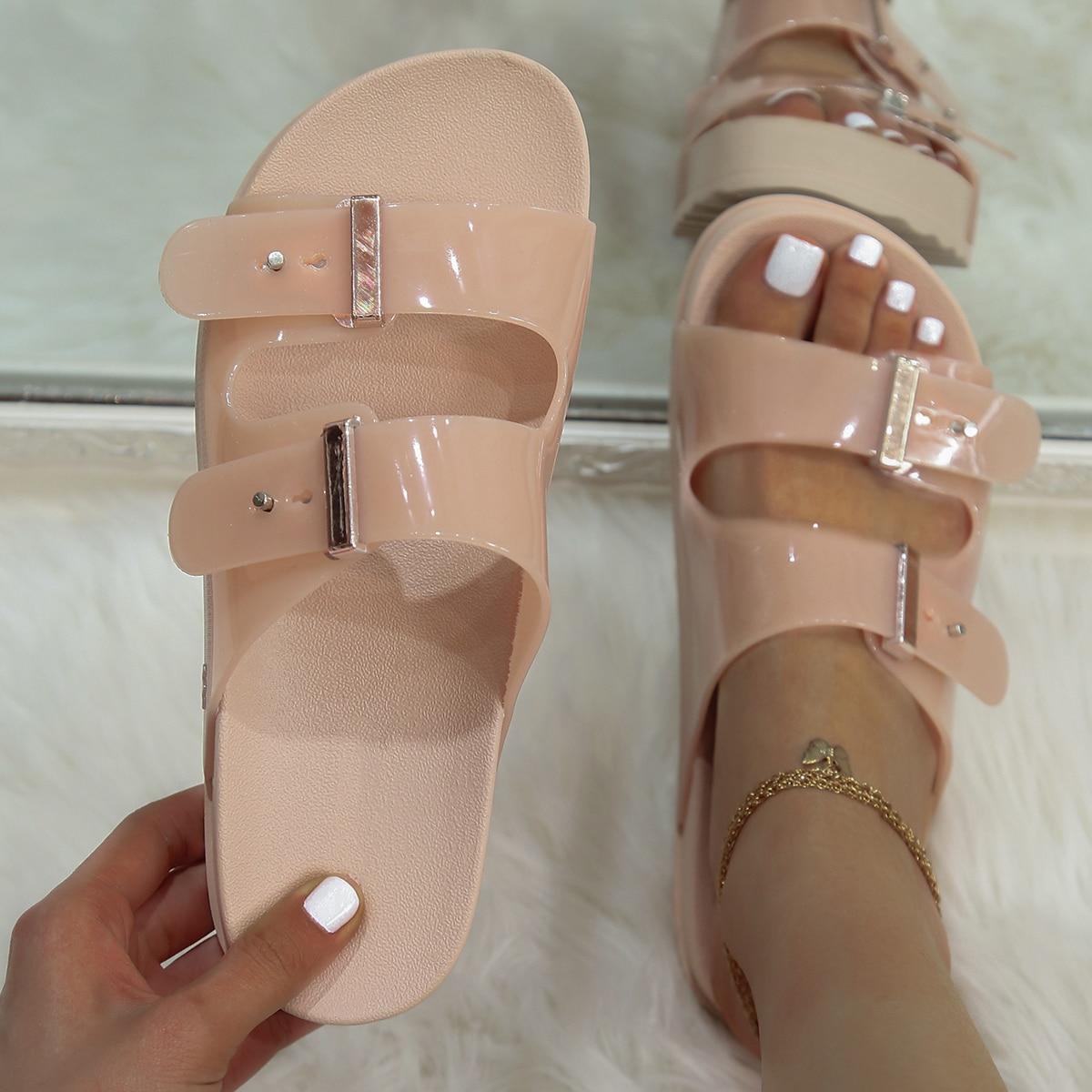 SHEIN Eenvoudige Birkenstock sandalen
