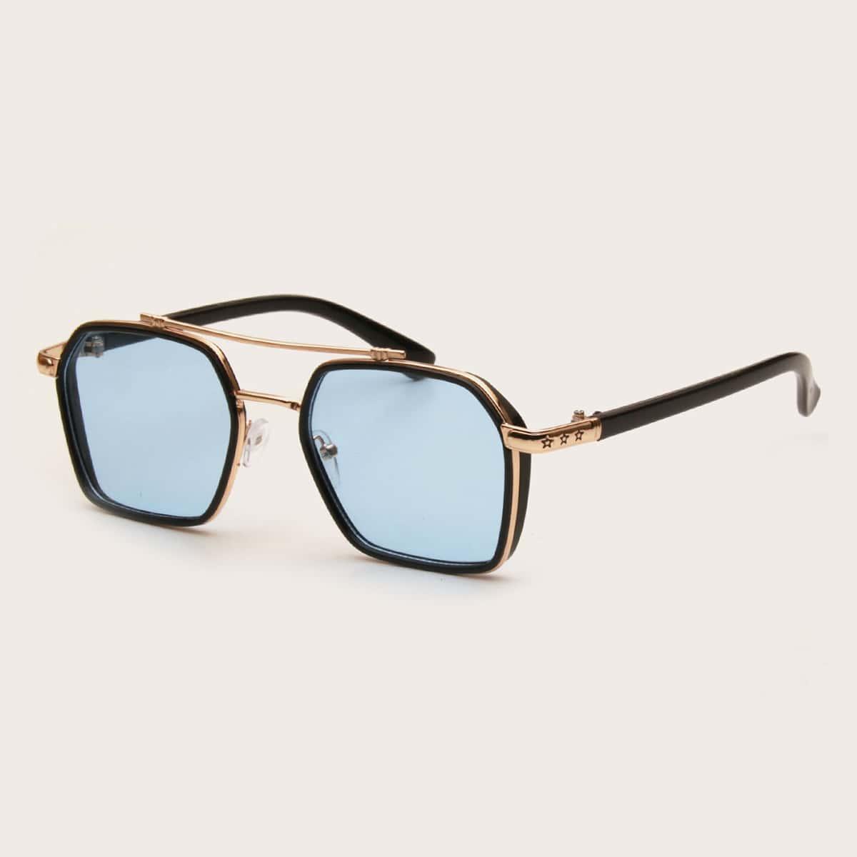 SHEIN Heren Top Bar zonnebril