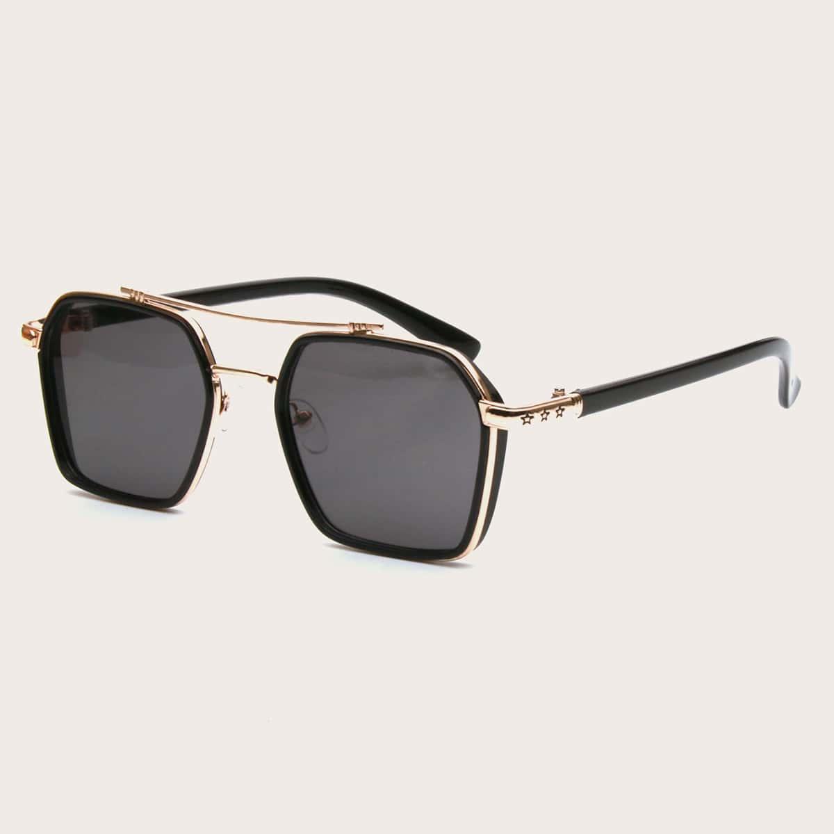 SHEIN Mannen Aviator zonnebril