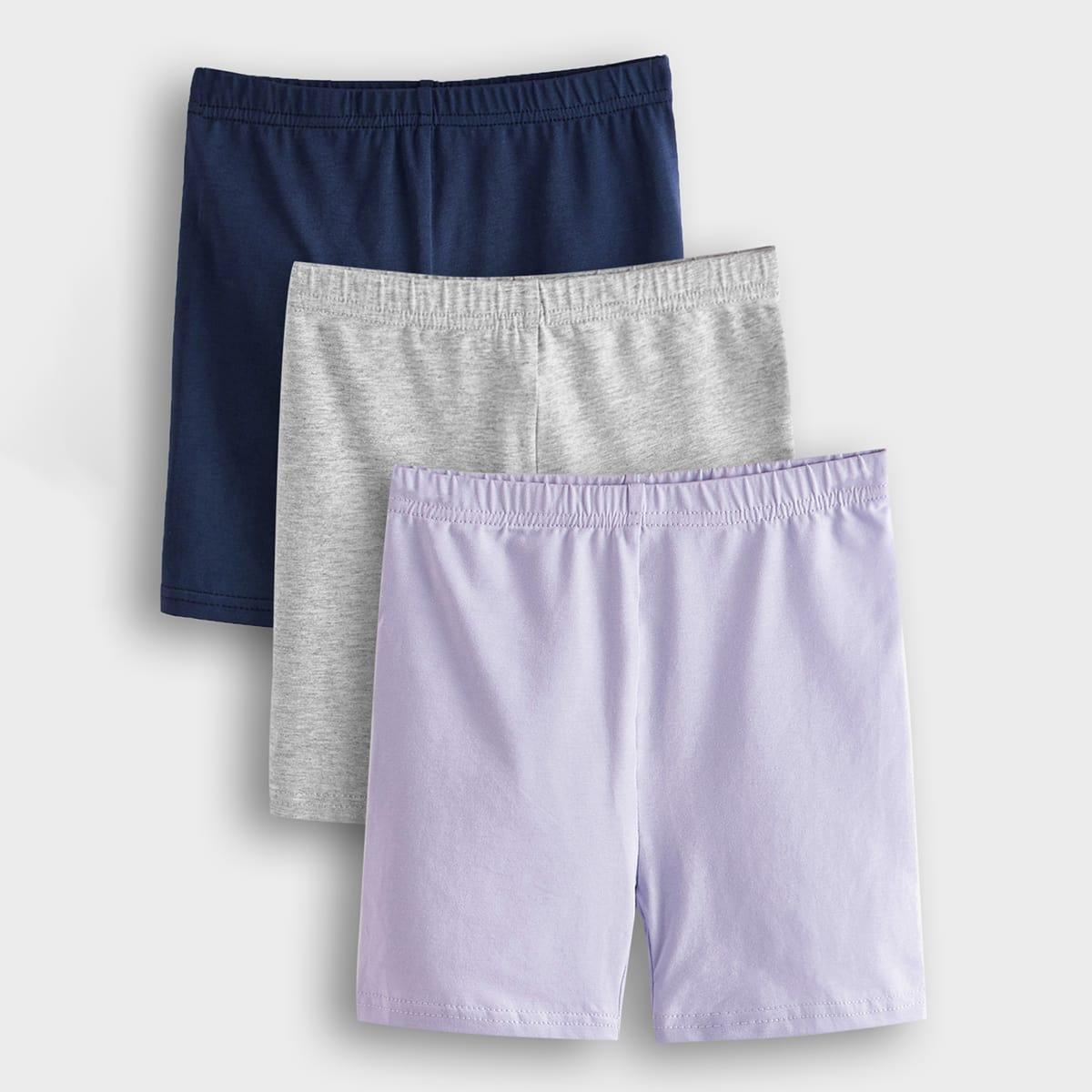 Байкерские шорты для девочек 3шт