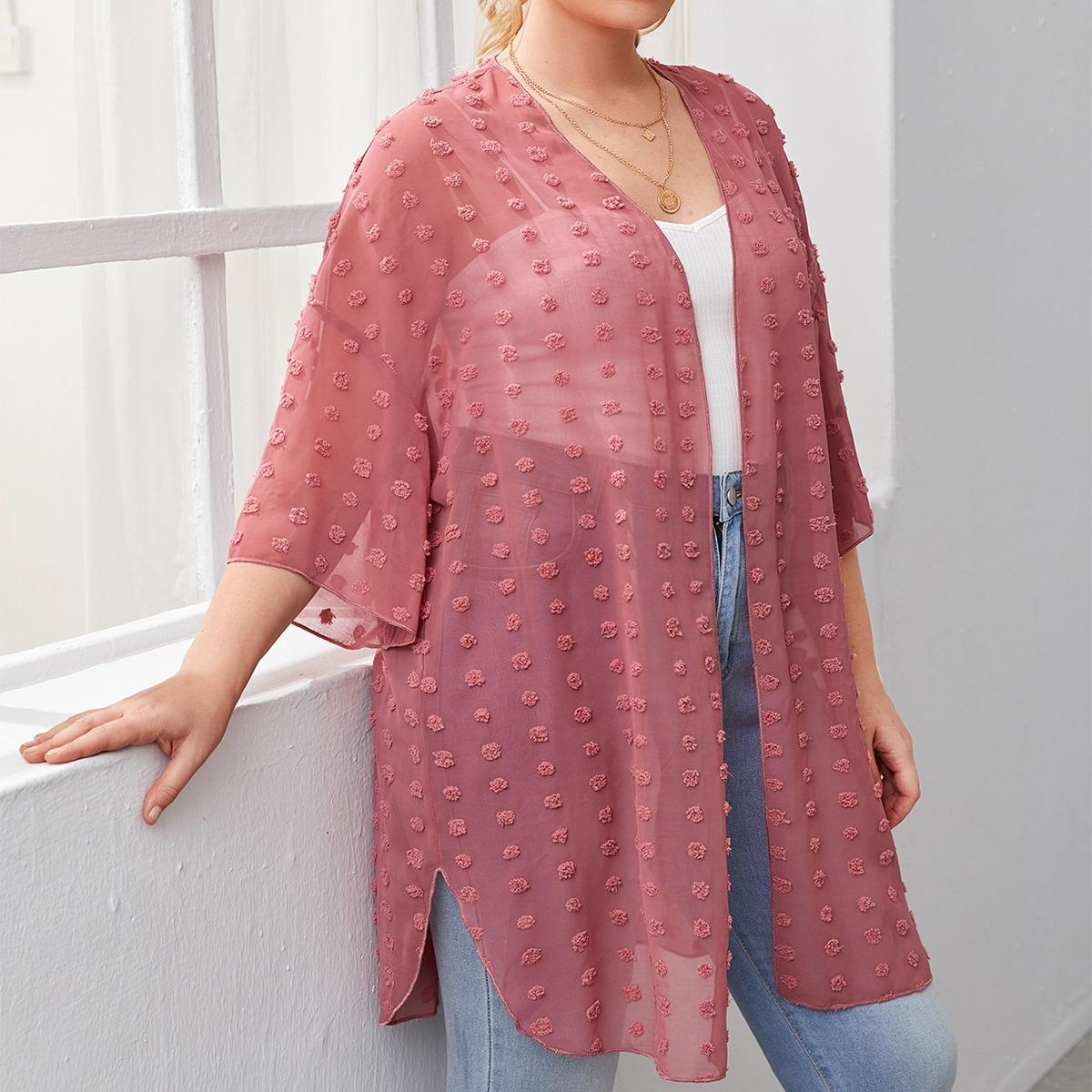 Оригинальное кимоно размера плюс по цене 610