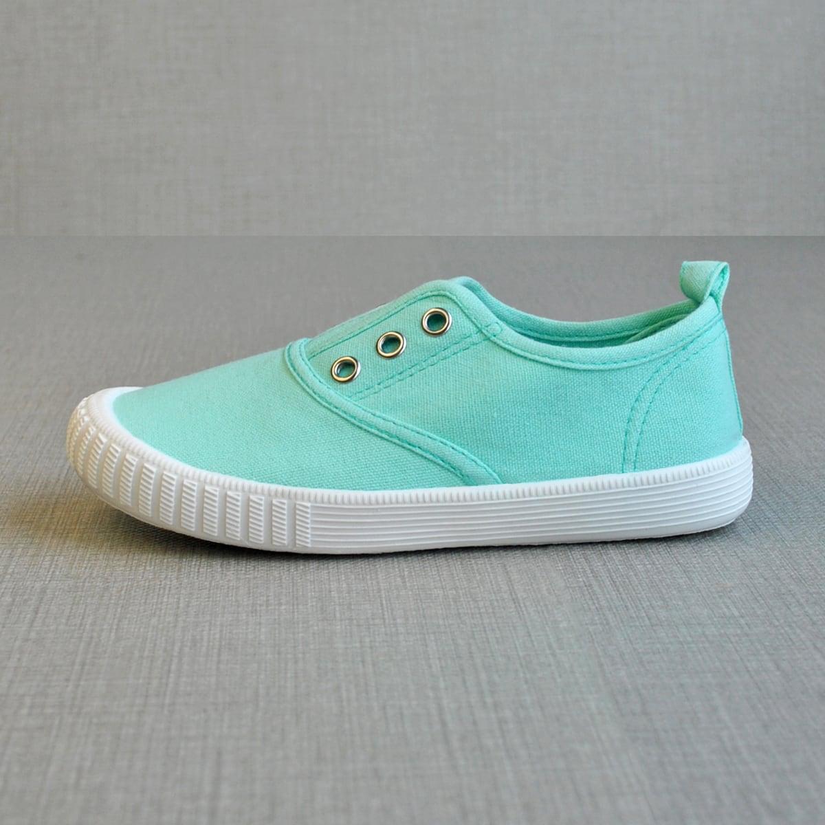 Холщовые туфли без шнуровки для мальчиков от SHEIN