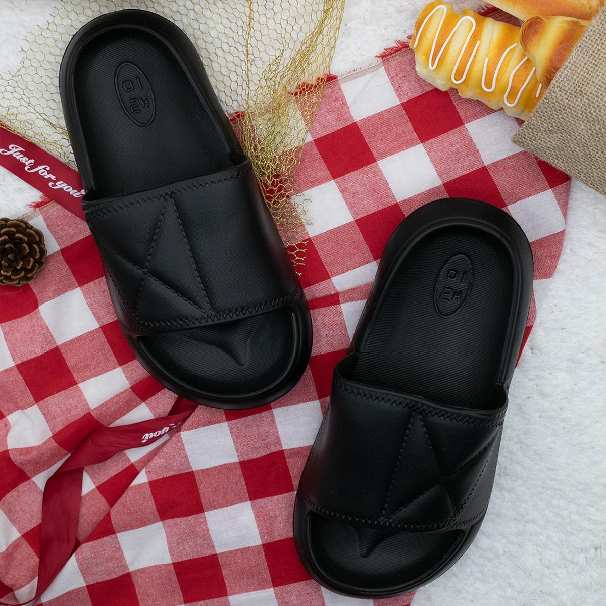 Мужские тапочки с открытым носком от SHEIN