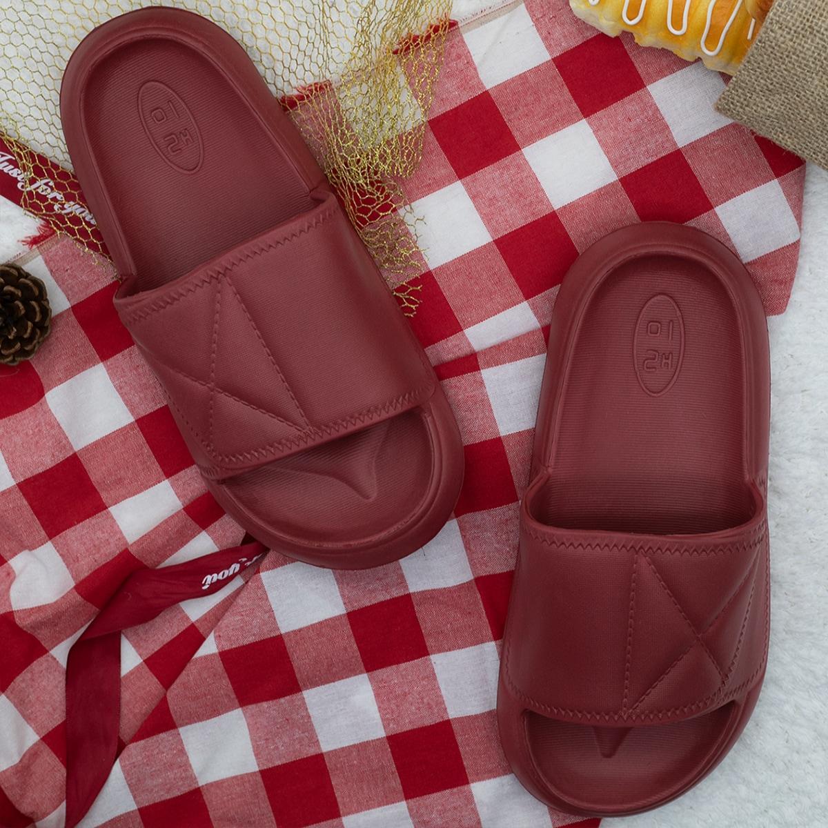 SHEIN Pantoffels met open teen