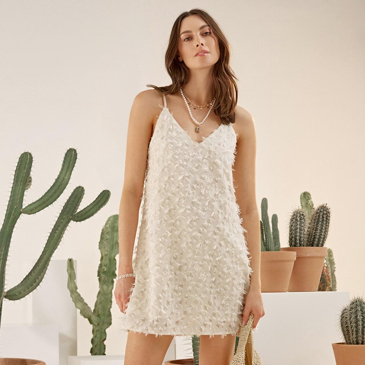 Платье на бретелях SheIn swdress07201224565