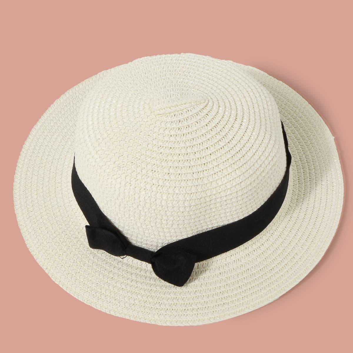 Mädchen Hut mit Schleife Dekor